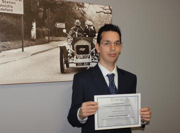 Nuestro compañero Jaime Antona se presentó al concurso para jóvenes profesionales de la Asociación Técnica de Carreteras y ganó.