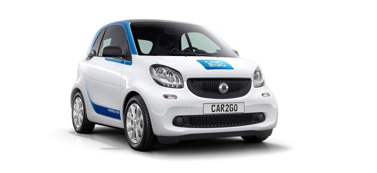 Alquilar un coche eléctrico en Madrid: car2go