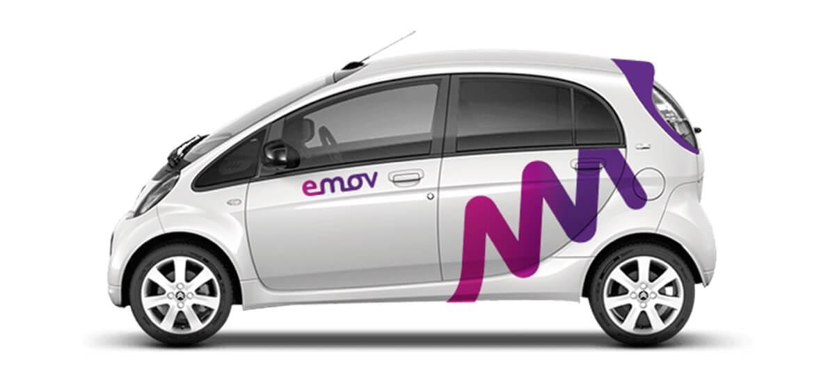 Alquilar un coche eléctrico en Madrid: emov