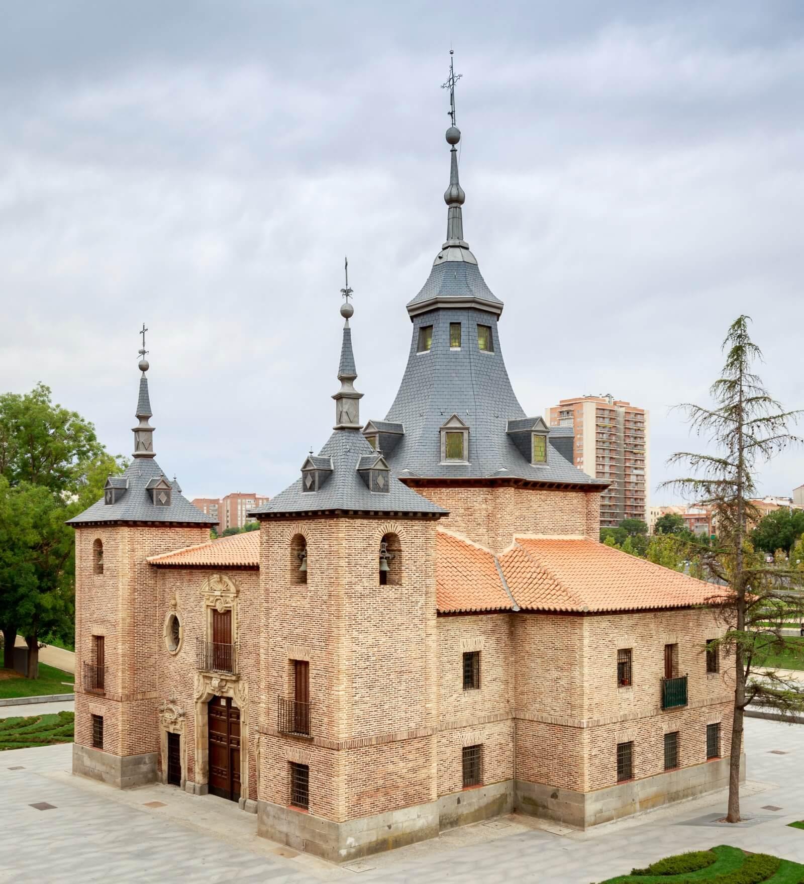 ermita virgen del puerto en madrid