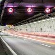 Imagen del interior del túnel de la M-30