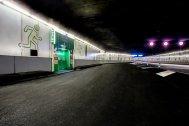 Salida de emergencia en el túnel de la M-30