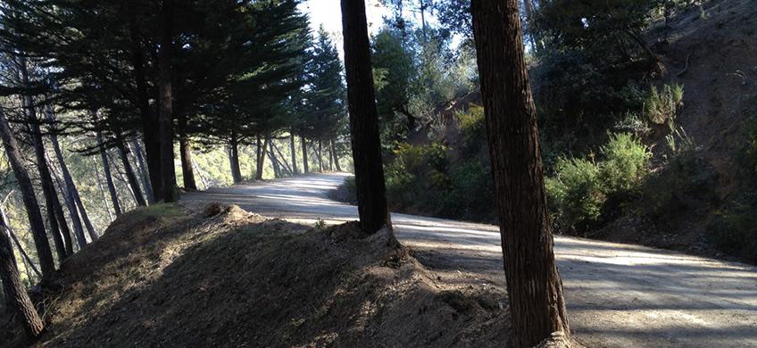 La carretera de los montes de Málaga es una de las carreteras más espectaculares de Esapaña