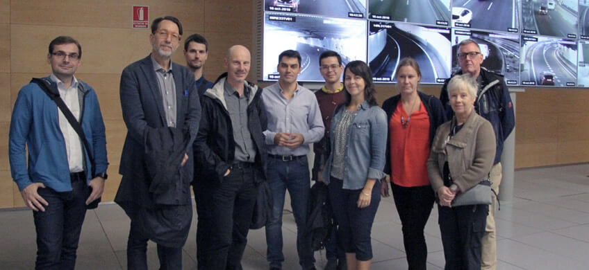 Emesa recibe dos visitas de expertos en infraestructuras en octubre