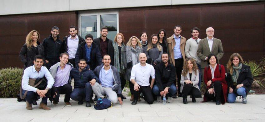 El programa formativo del Ministerio de Transportes y Seguridad Vial de Israel visita Emesa