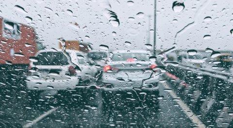 Atascos lluvia
