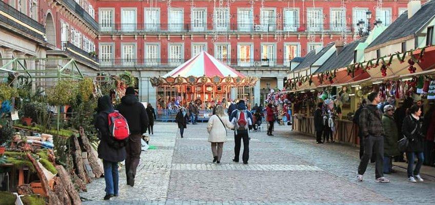 Mercados navideños de Madrid