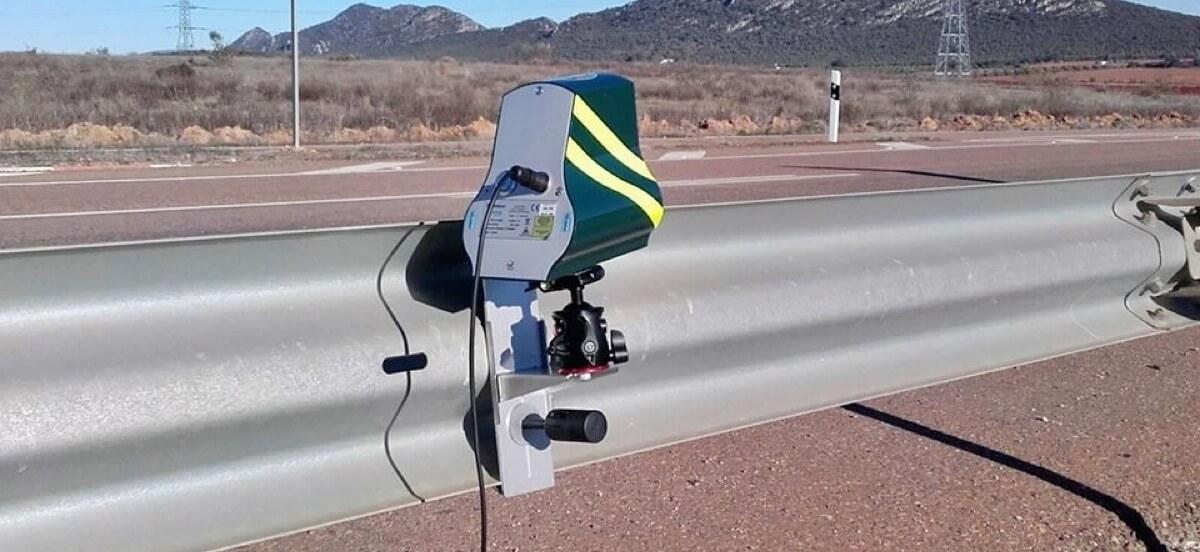 Ubicaciones habituales radares velolaser