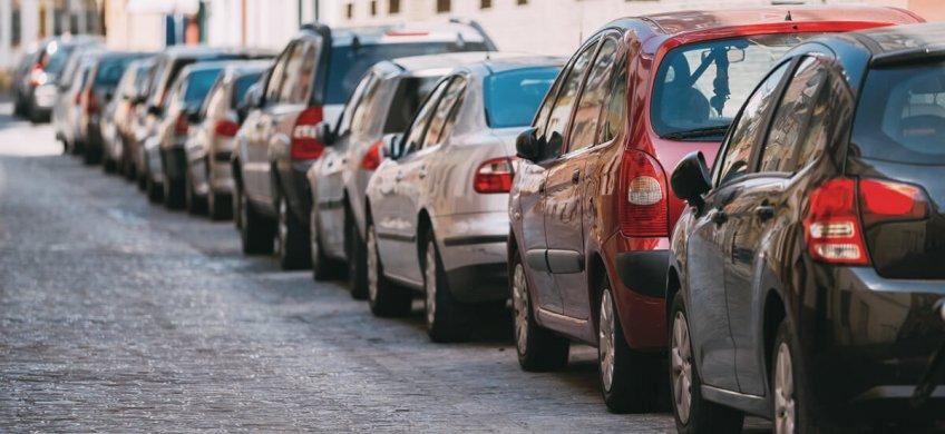 aparcar en Madrid Río