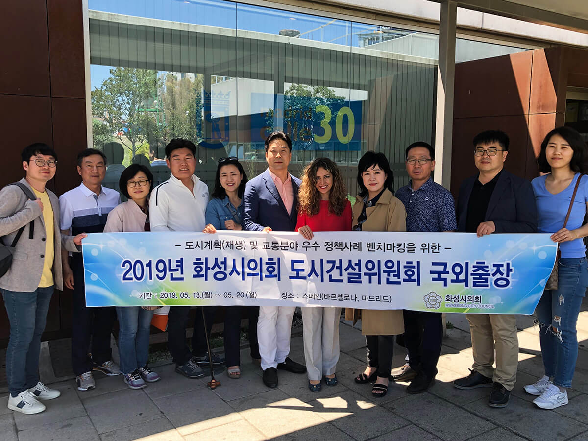 visita mayo profesionales de Corea del sur, Brasil e Inglaterra a Emesa