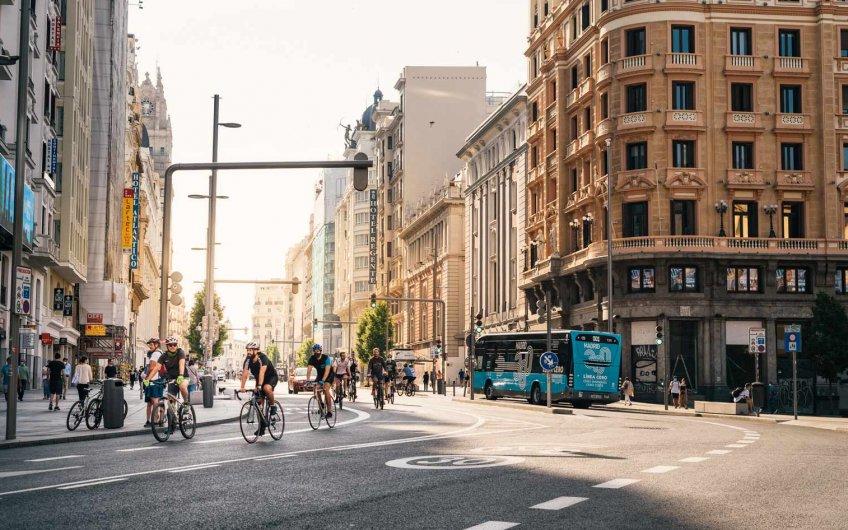 normas de circulacion para ciclistas