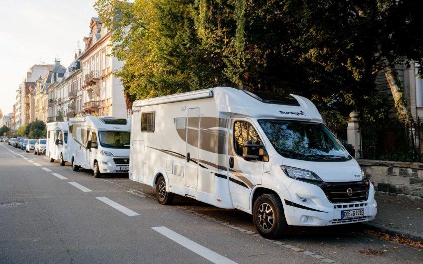 aparcar una autocaravana en Madrid