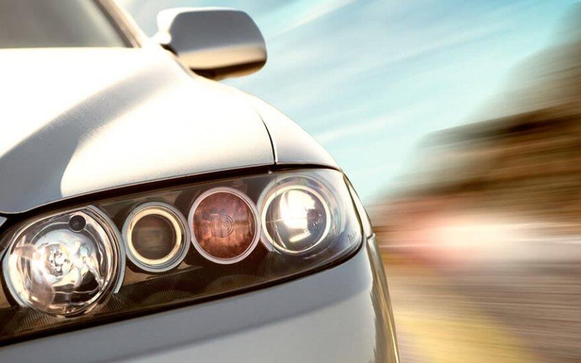 luces de los vehiculos