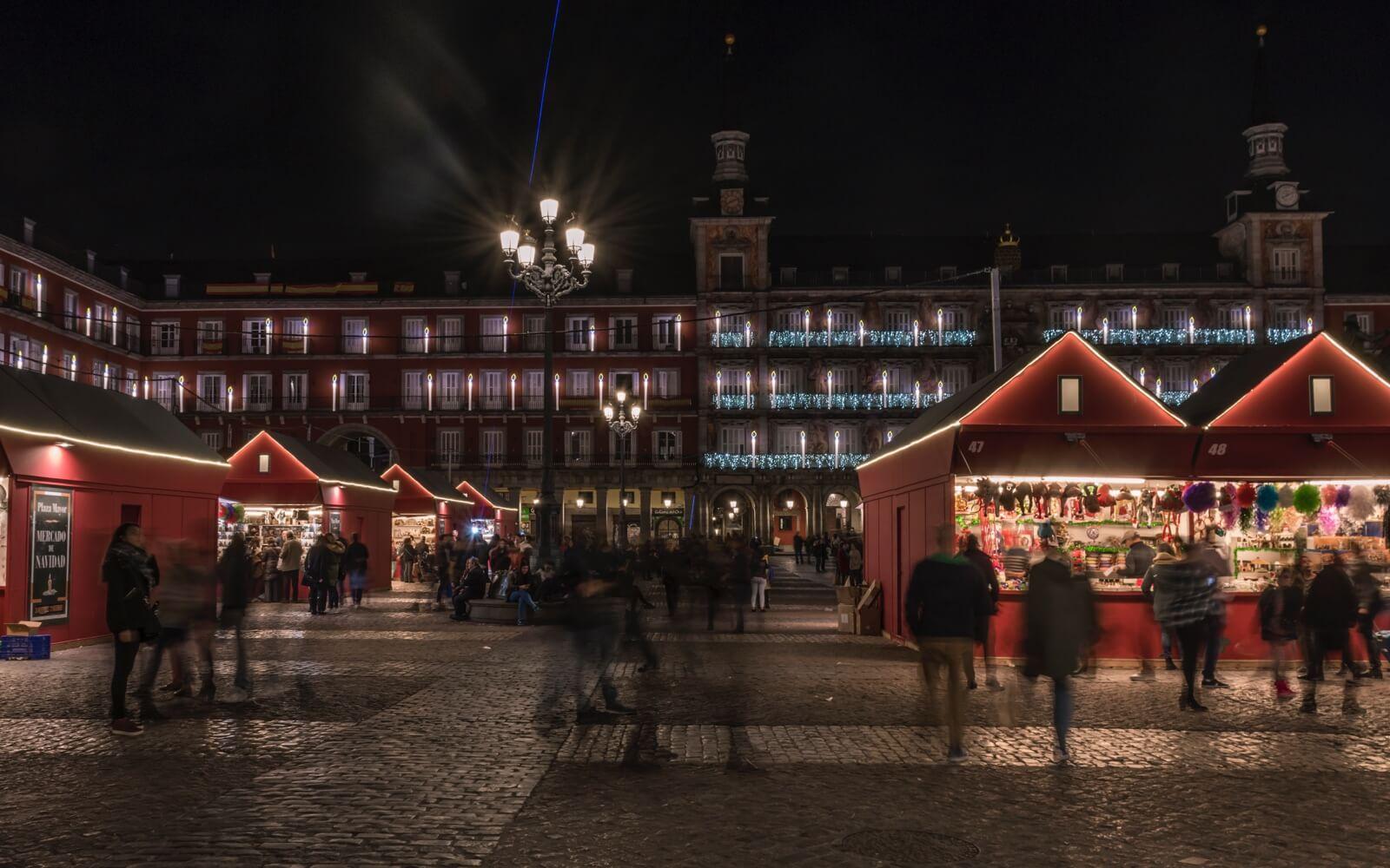 Mercadillos navideños en Madrid