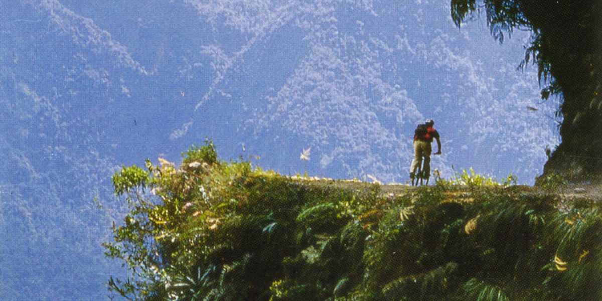 Carretera de los Yungas - Bolivia