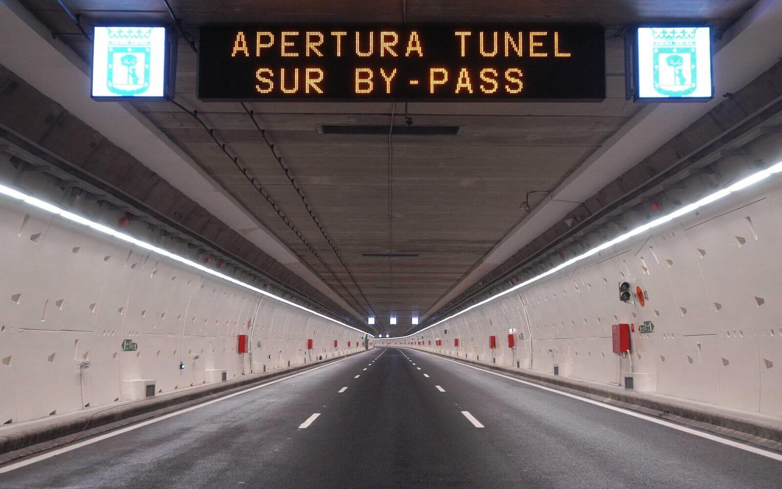 Túnel By - Pass Sur de la M-30
