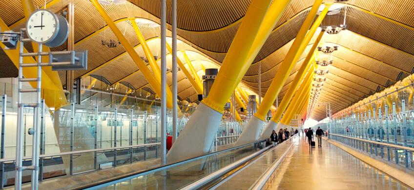 como llegar al aeropuerto de madrid