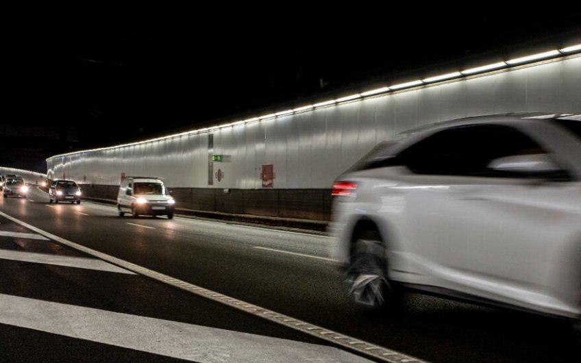 distancia de seguridad en tuneles m30