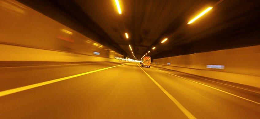 efecto tunel en el coche