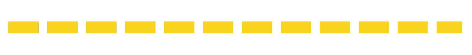 Línea amarilla continua
