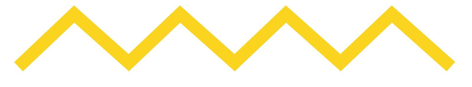 Línea amarilla en zig zag