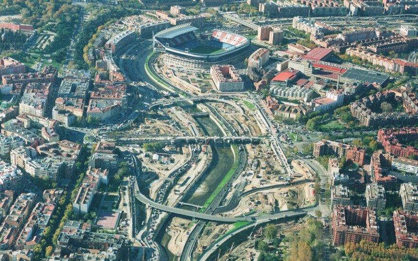 Así era la M-30 antes de Madrid Río, ¿te acuerdas?