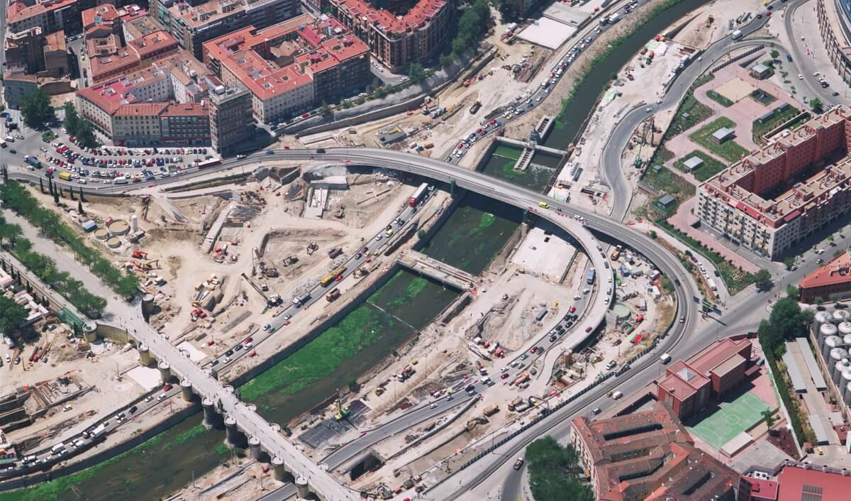 Soterramiento M-30: Así era la M-30 antes de Madrid Río.