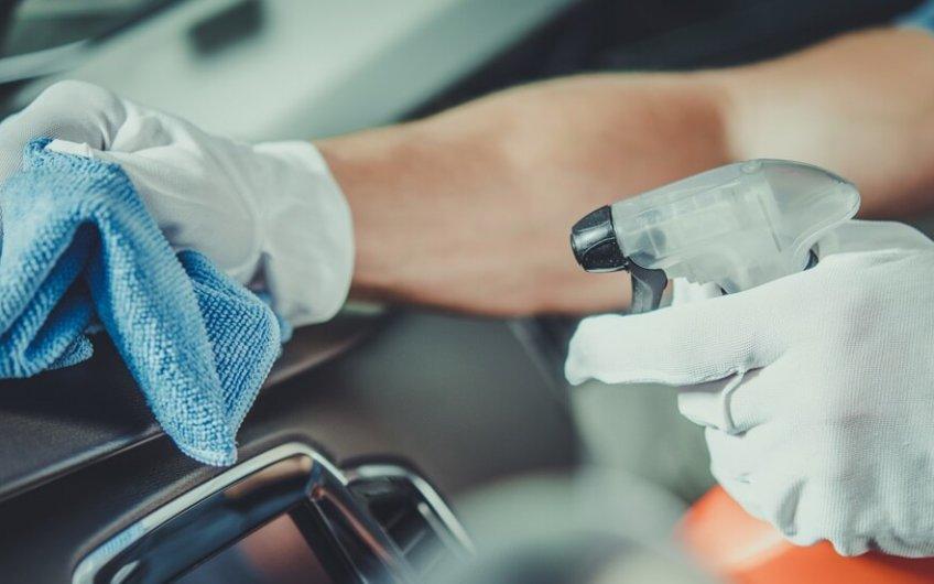 Cómo desinfectar mi coche por dentro
