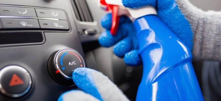 desinfectar aire acondicionado coche