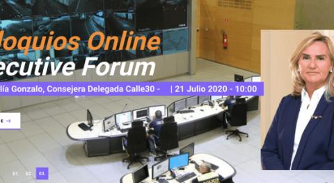 Coloquios online executive forum: Rosalía Gonzalo, Calle 30