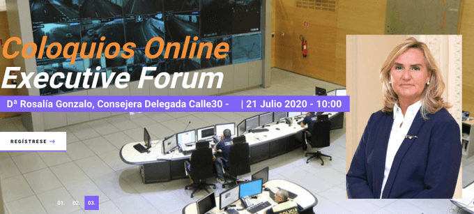 Coloquios online executive forum: Rosalía Gonzalo, Calle 30
