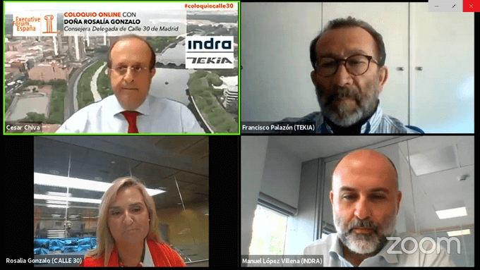 Coloquio Online Executive Forum: Calle 30, Indra y Tekia