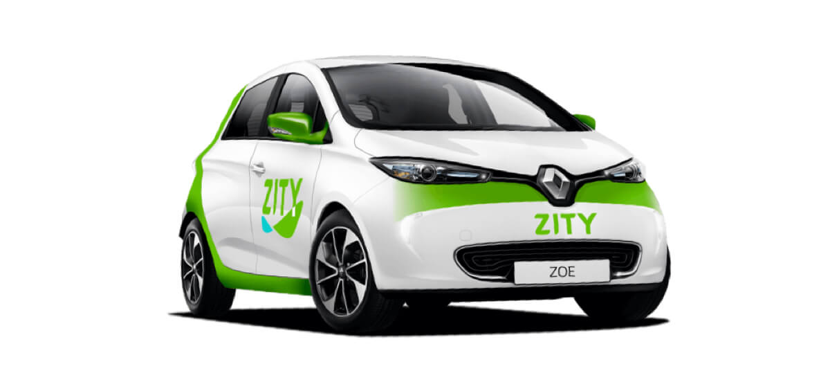 Alquilar un coche eléctrico en Madrid: Zity