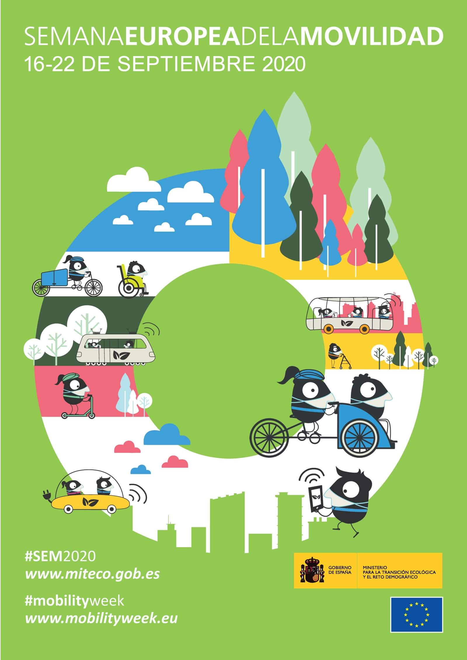 Cartel Semana de la Movilidad 2020