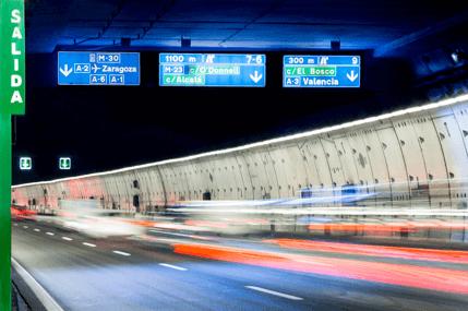 Los túneles de la M-30, más seguros desde 2007