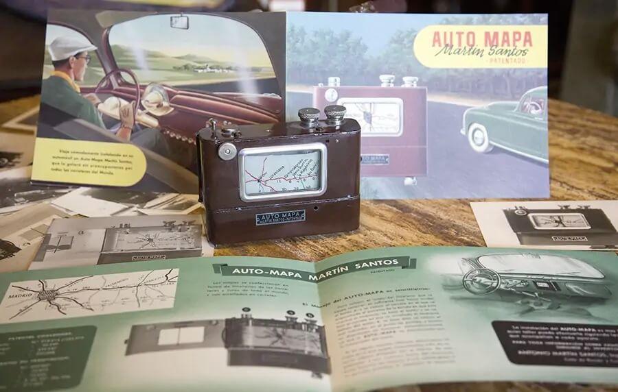 Automapa, el GPS español de 1955