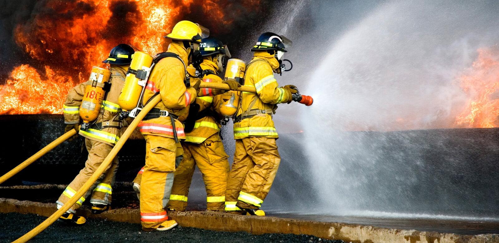 Tipos de agua para extinguir incendios