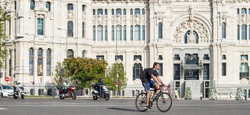 Circular en bici por Madrid las claves que debes conocer