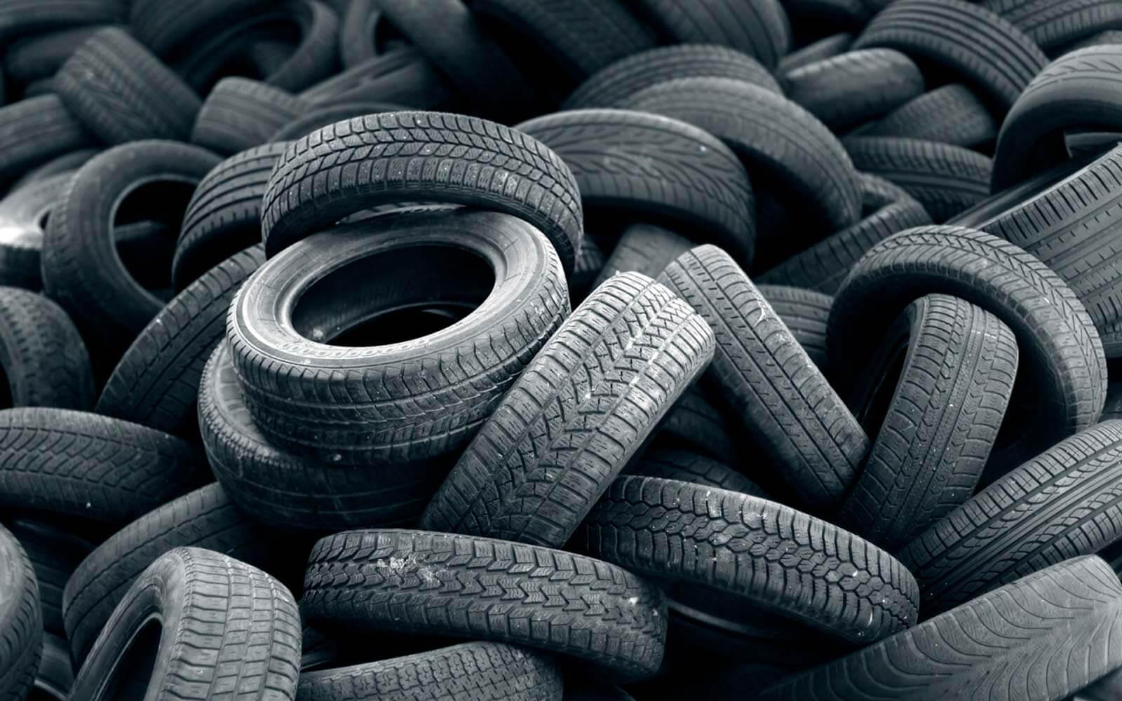 carreteras del futuro con neumáticos reciclados