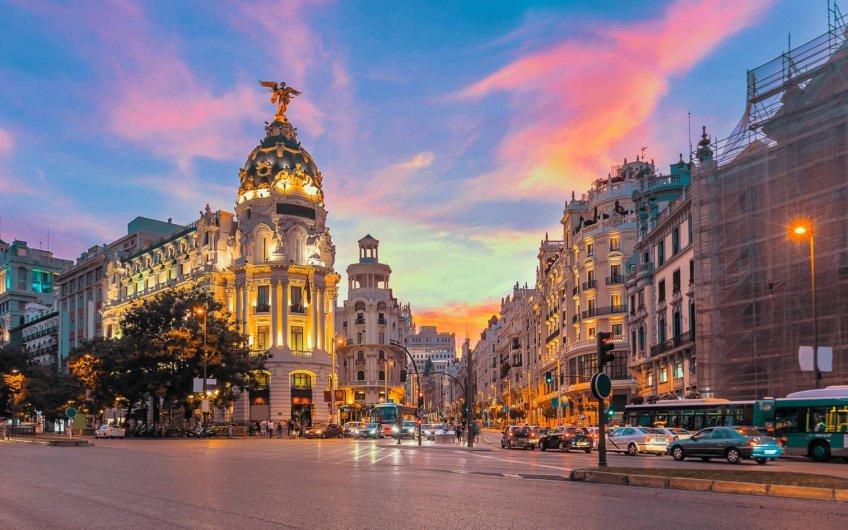 circular por Madrid