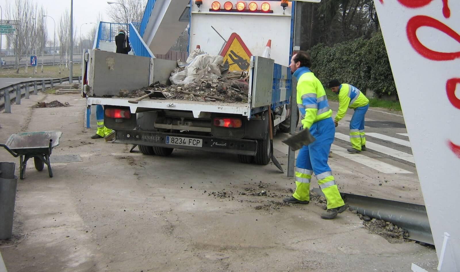 gestión de los residuos en las actividades de la M30