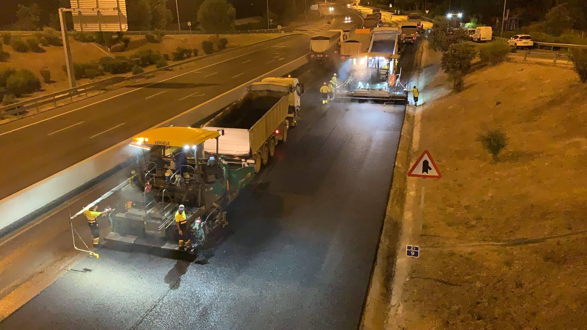 segunda fase operación asfalto m30