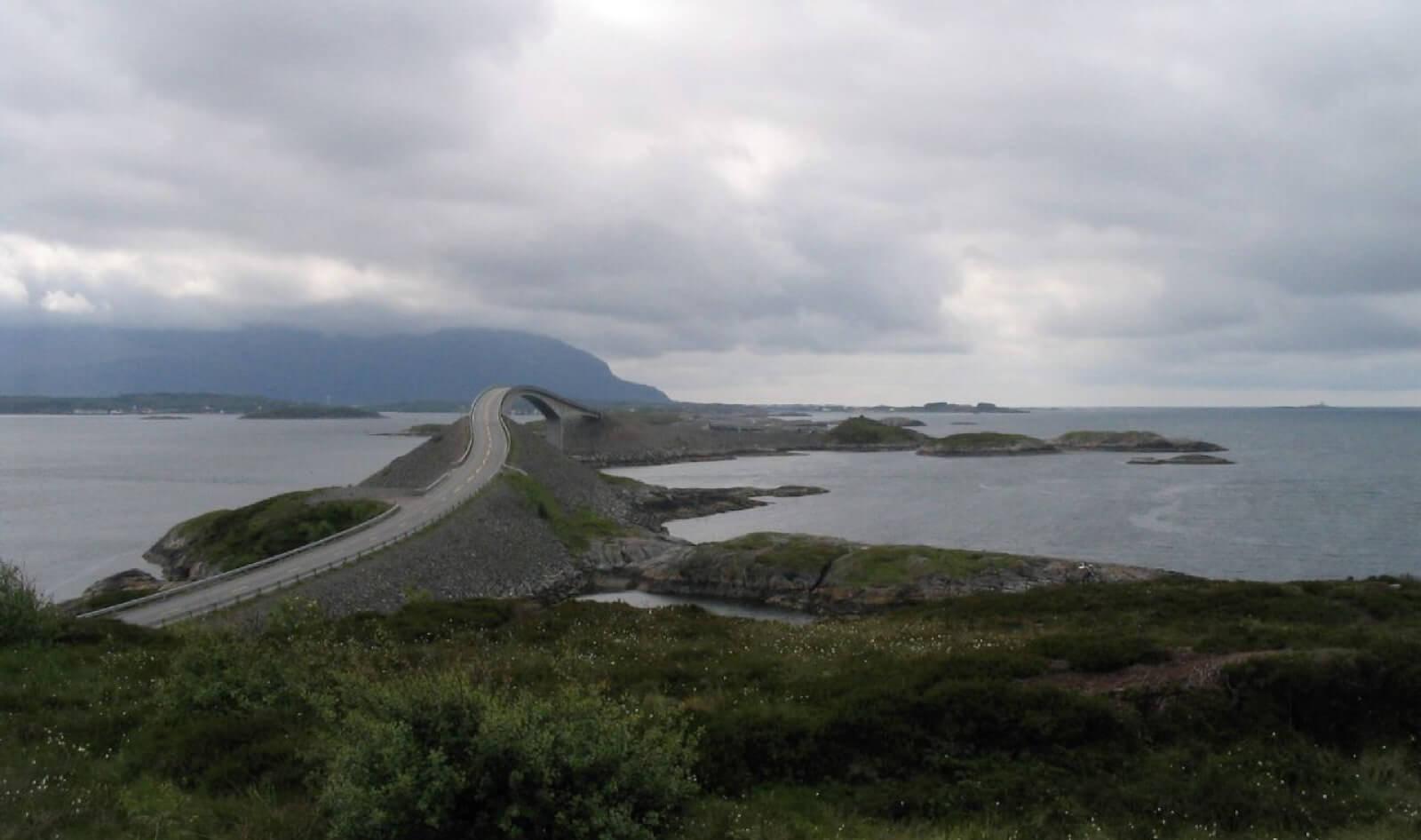 Carretera del Atlántico, Noruega