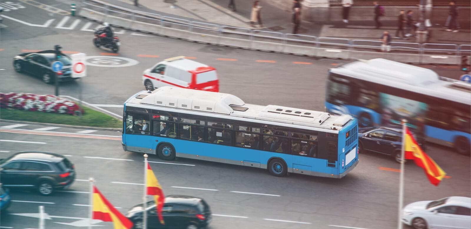 transporte urbano Madrid autobús